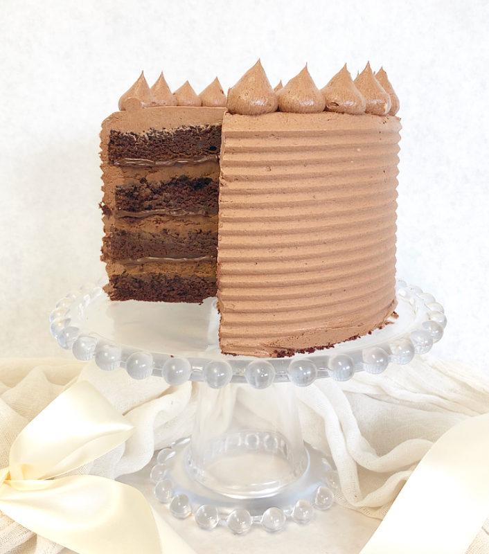 Triple Chocolate Cakes