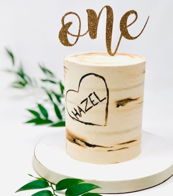 Luxe Birch Tree Smash Cakes