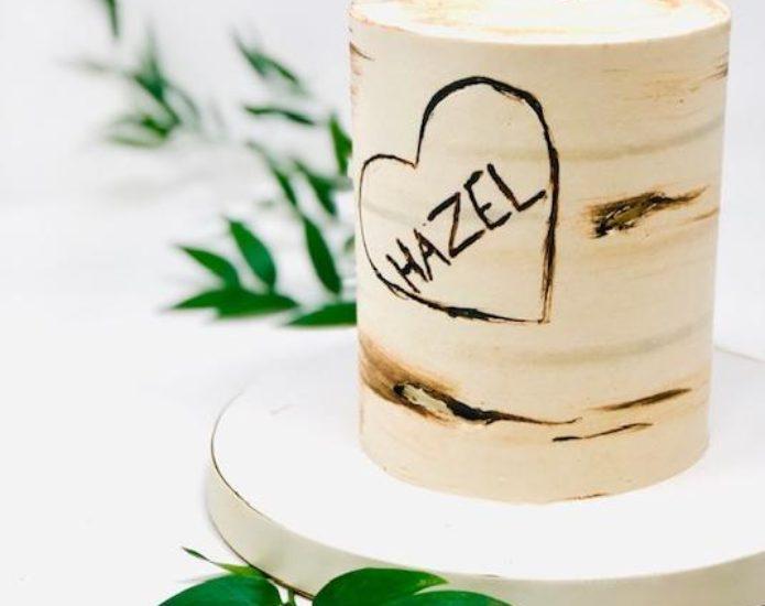 Luxe Birch Tree Smash Cakes