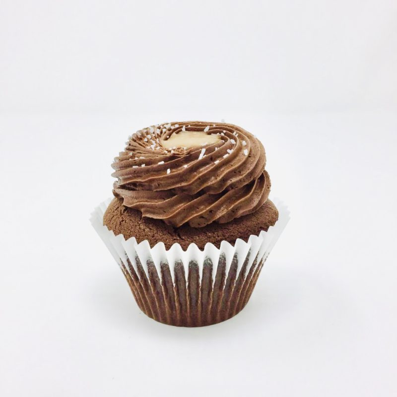 Chocolate Salted Caramel Cupcakes – Box of 6