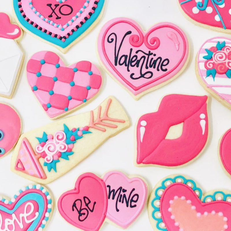 Cookie Decorating Class 'Sweet Valentine'