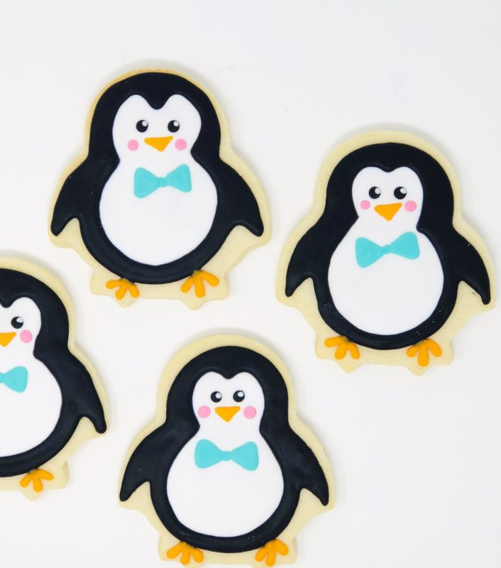 Vegan Penguin Cookies