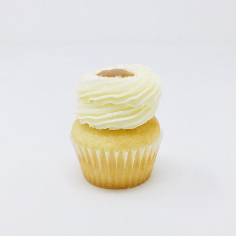Salted Caramel Mini Cupcakes – Box of 12