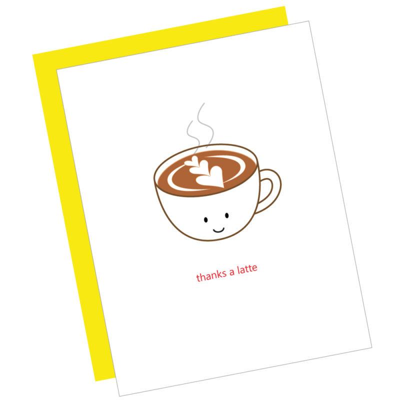 Thanks a Latte Card