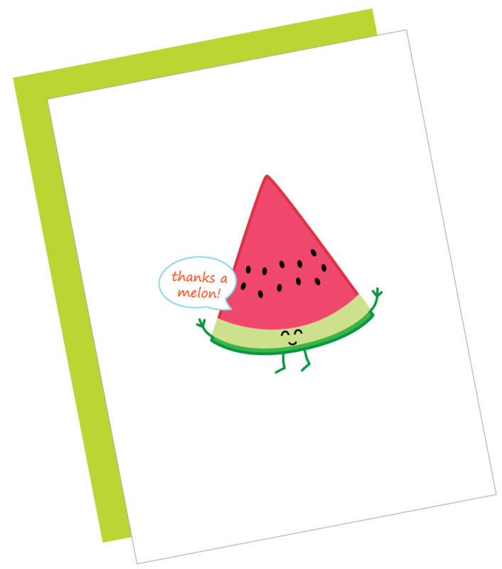 Thanks a Melon Card