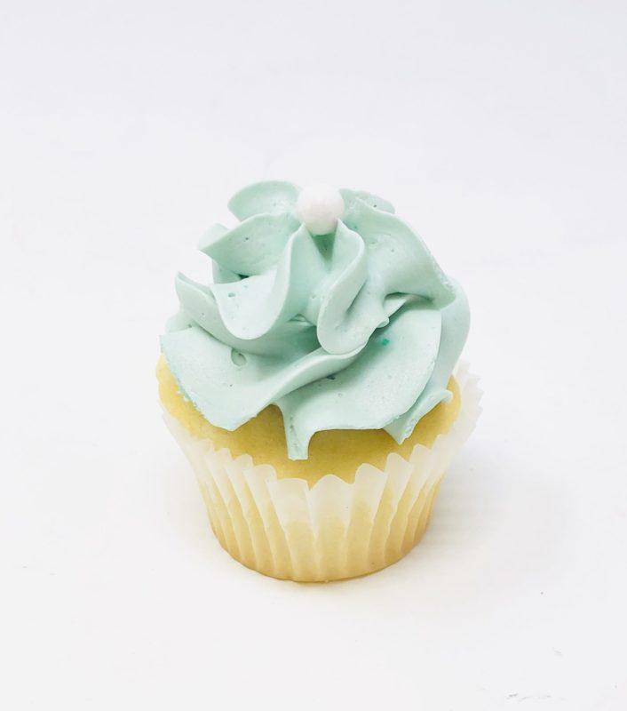 Luxe Aqua Mini Cupcakes