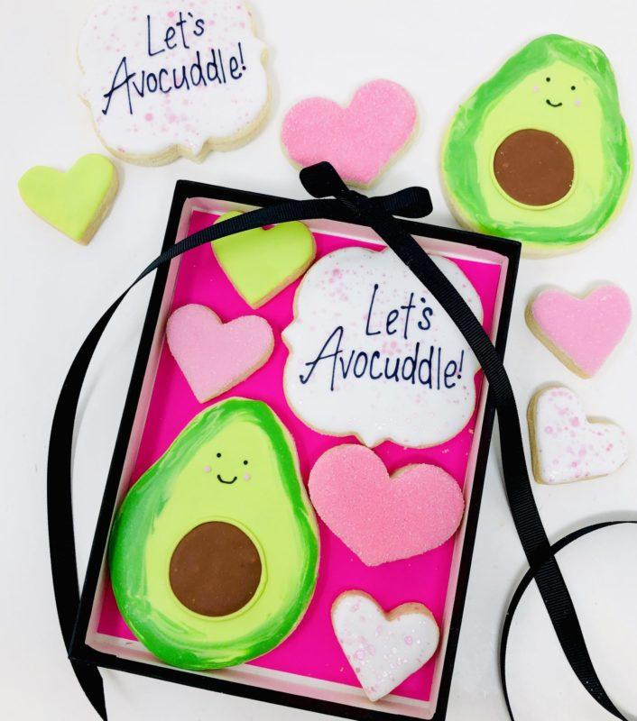 Let's Avocuddle Cookie Set