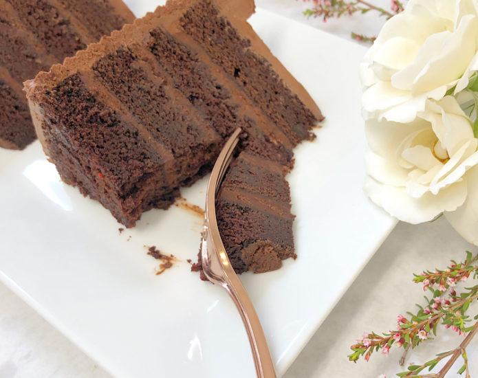 Black Chocolate Cakes