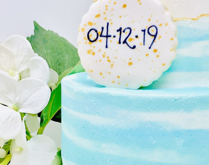 Blue Baby Luxe Cakes