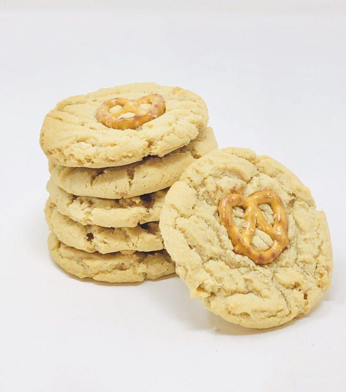 Chewy Pretzel Cookies