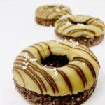 Chocolate Salted Caramel Doughnuts