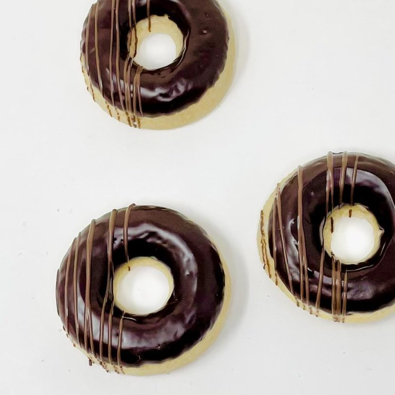 Chocolate Dip Doughnuts