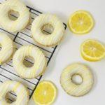 Lemon Lover Doughnuts