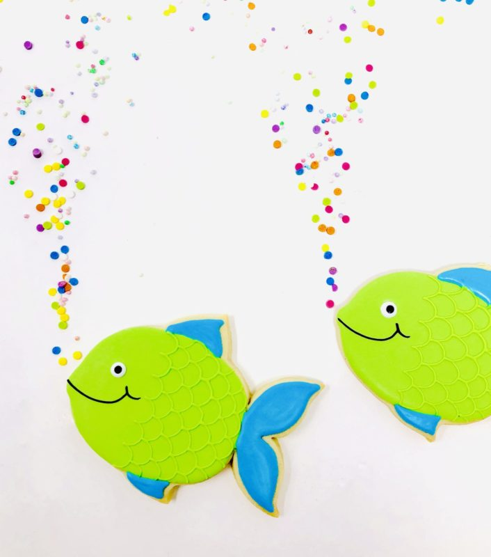 Vegan Fish Cookies