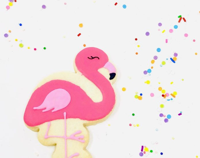 Flamingo Cookies