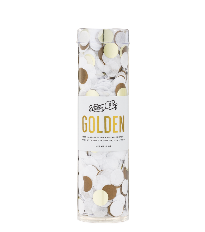 Golden Party Confetti