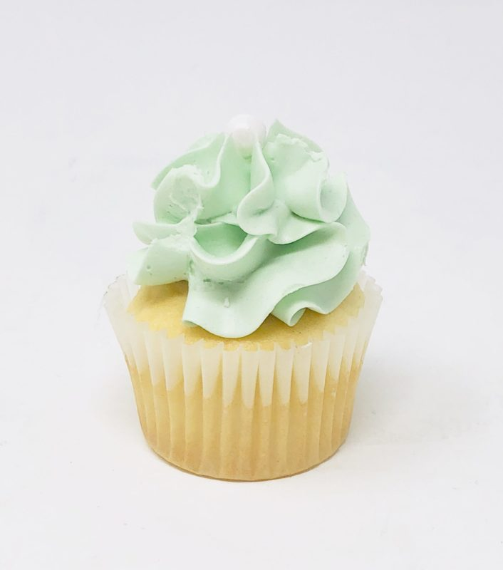Luxe Green Mini Cupcakes