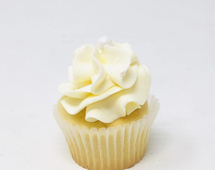 Luxe White Mini Cupcakes