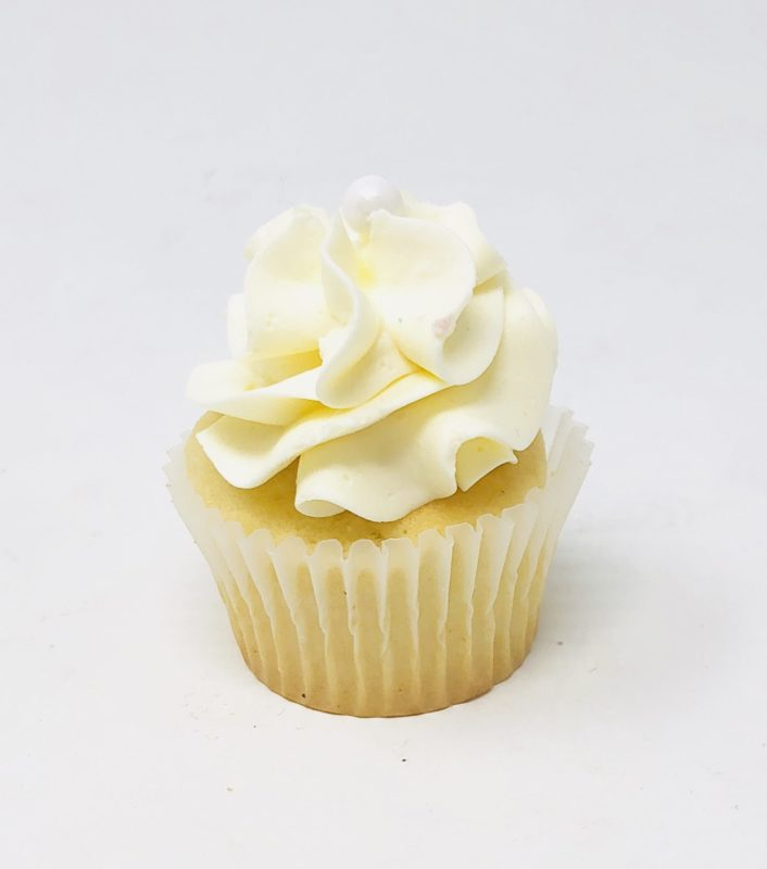 Ivory Luxe Mini Cupcakes