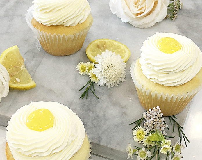 Lemon Lover Cupcakes