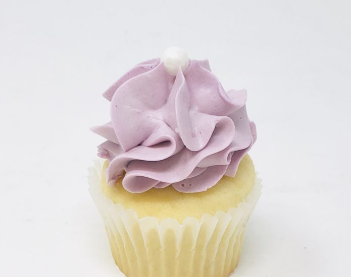 Lilac Luxe Mini Cupcakes