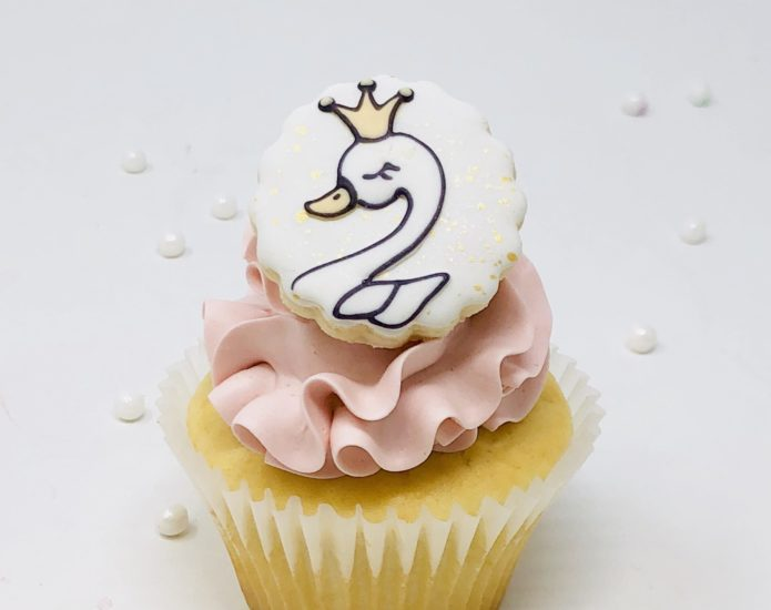 Swan Luxe Cupcakes