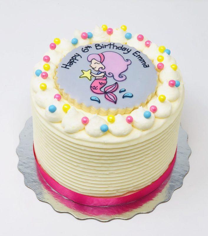 Vegan Mermaid Cakes