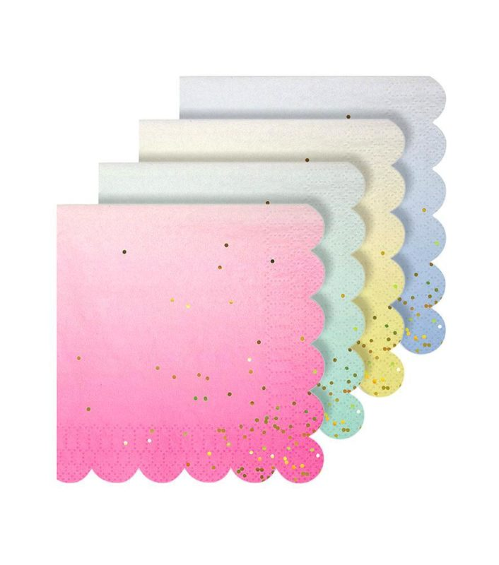 Ombre Party Napkins