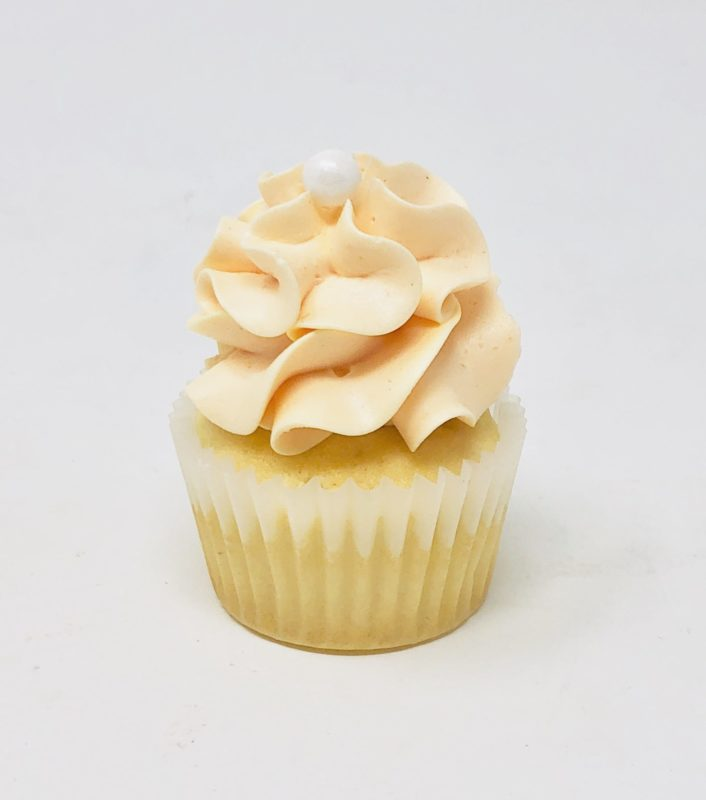 Peach Luxe Mini Cupcakes