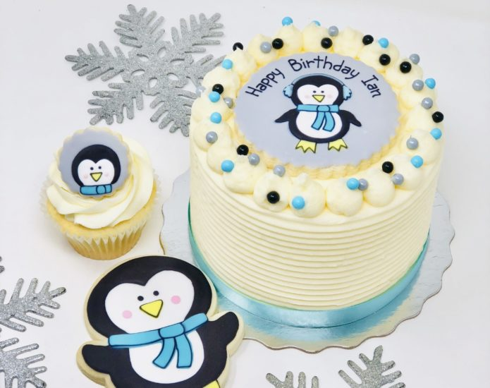 Vegan Penguin Cakes