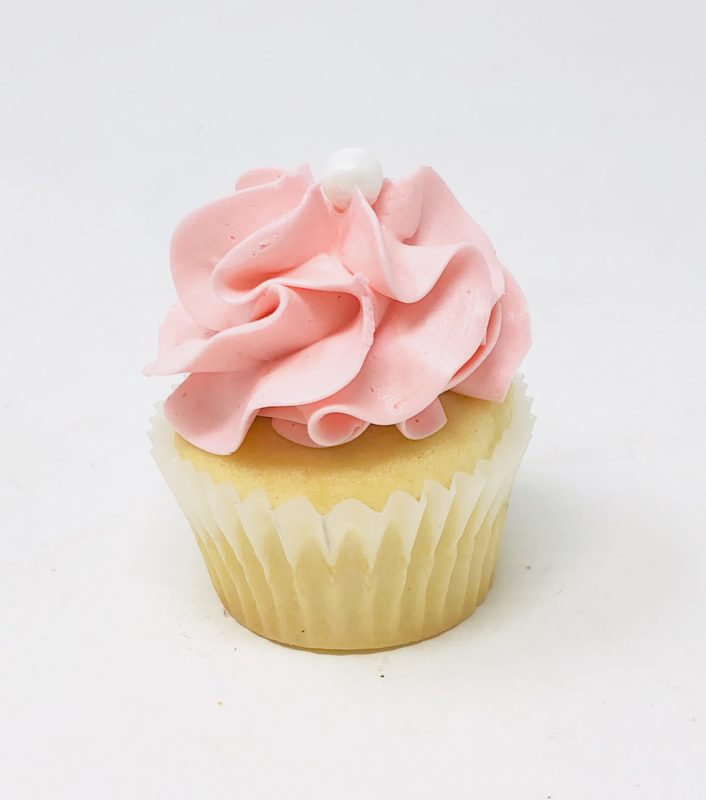 Pink Luxe Mini Cupcakes