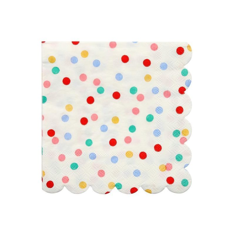 Rainbow Dot Napkins
