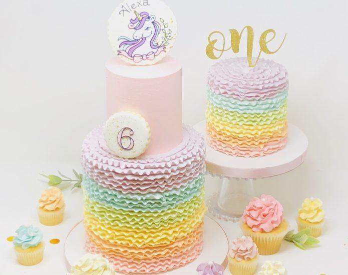 Unicorn Luxe Cakes