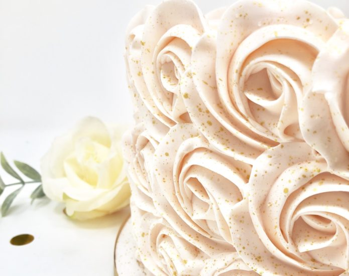 Luxe Rosette Smash Cakes