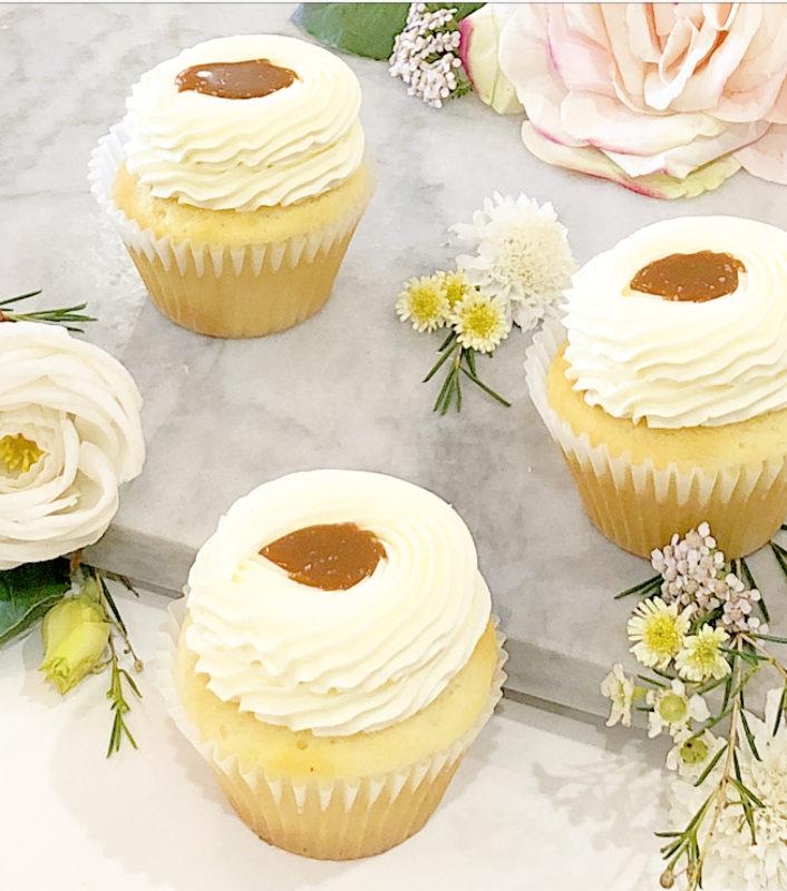 Classic Salted Caramel Cupcakes