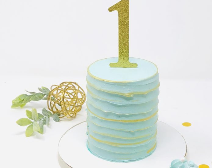 Luxe Textured Smash Cakes