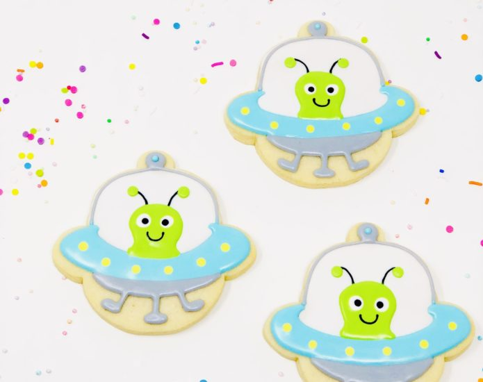 Vegan Alien Cookies