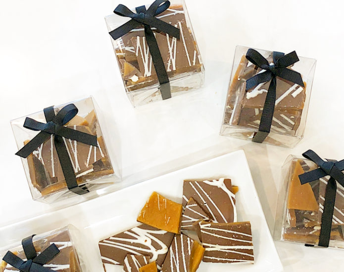 Chocolate Toffee Bark