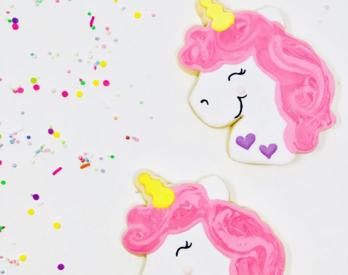 Vegan Unicorn Cookies
