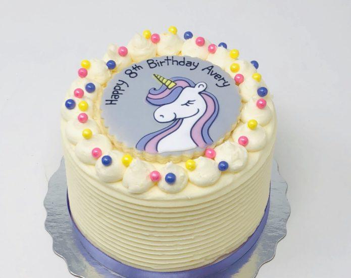 Vegan Unicorn Cakes