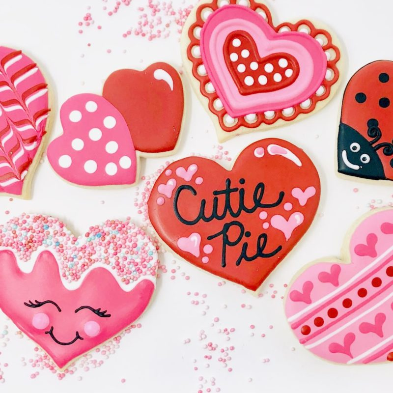 My Little Cookie Class for 2 'Be Mine'