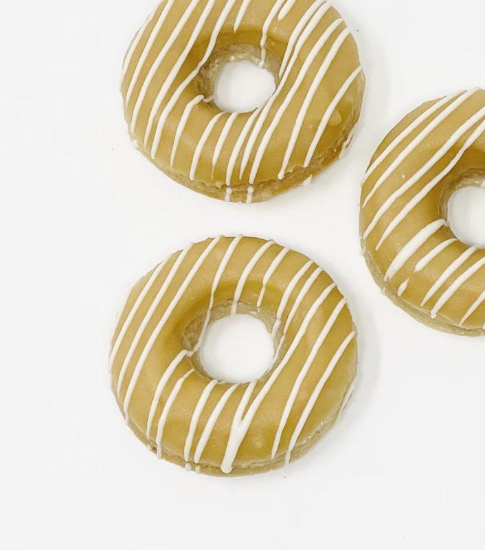 Vanilla Caramel Doughnuts