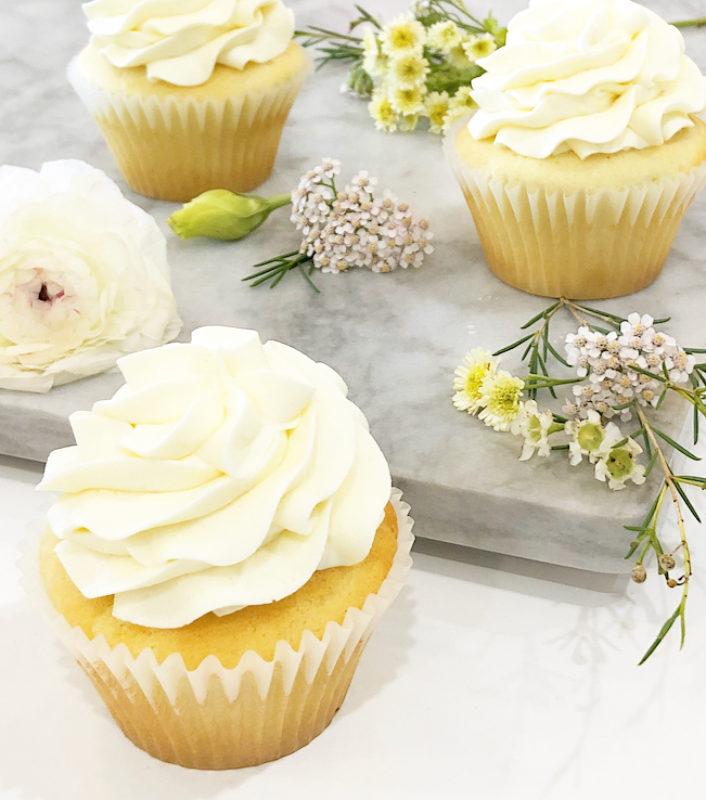 Classic Vanilla Yum Cupcakes