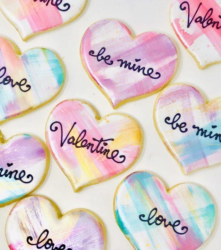 Vegan Be My Valentine Cookies