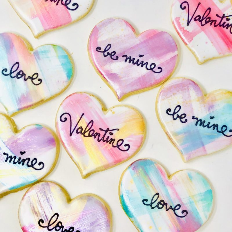 Be My Valentine Cookies