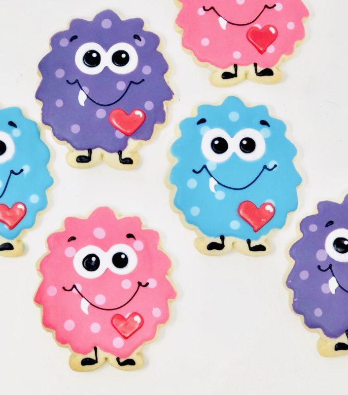 My Little Valentine Cookies