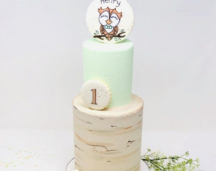 Owl Luxe Cakes