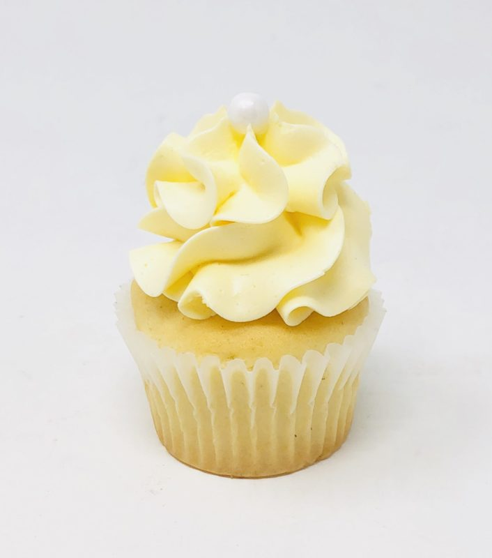Luxe Yellow Mini Cupcakes