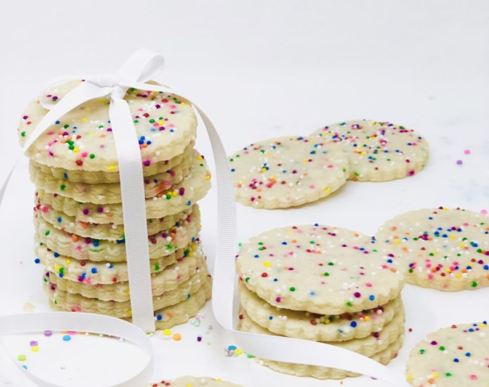 Vegan Sprinkle Cookies