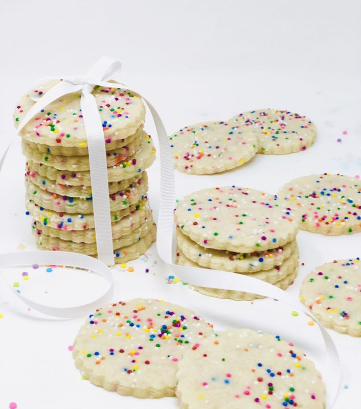 Vegan Sprinkle Cookies (10)
